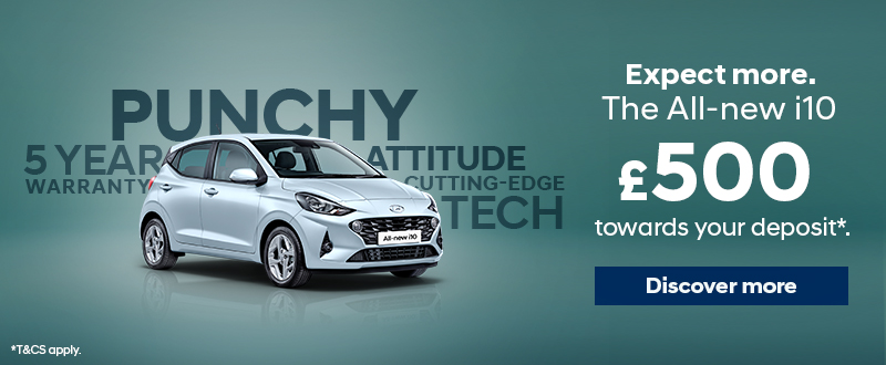 All-new i10 offer