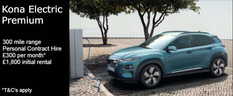Hyundai Kona Electric new car offer
